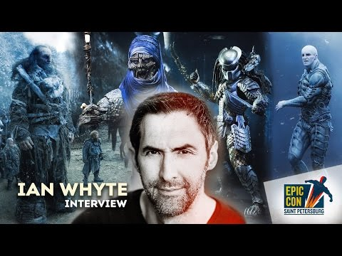 with Ian Whyte  Actor of the Thrones, Alien vs. Predator and  Prometheus