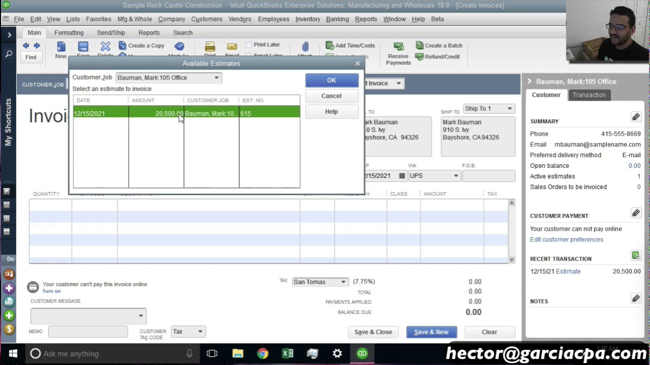 debit credit, how do insurance, how record depreciation, reiumbursments go where, description examples, journey entry travel, on quickbooks expense report by job