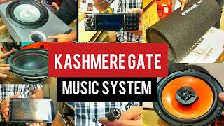 Music System, Components, Base Tube, Sub Woofer, Woofers, Amplifiers | Kashmiri Gate, Delhi.