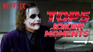 Top 5 Joker Moments | The Dark Knight | Netflix India