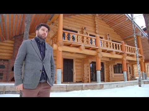 видео: Пристройка деревянного двухэтажного крыльца и балкона к срубу // forumhouse