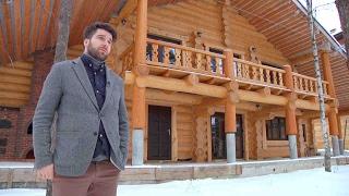 Пристройка деревянного двухэтажного крыльца и балкона к срубу