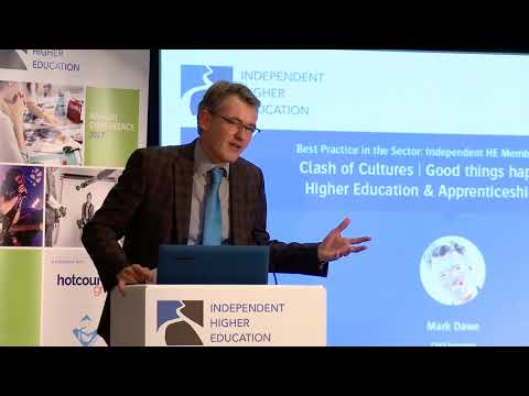 Independent HE Annual Conference 2017 - Higher Education and Apprenticeships