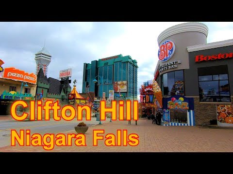 Sights And Sounds Of Clifton Hill, Niagara Falls - Filmed On A GoPro HERO7 Black | TravelZillion.com