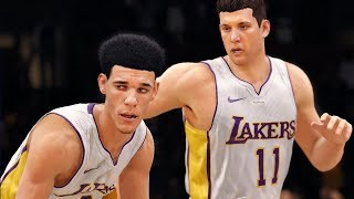 DEMANDING A TRADE TO GO PLAY WITH LONZO BALL! NBA Live 18 The League! Ep:2