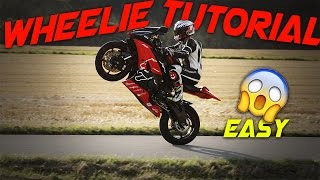 HOW TO WHEELIE YOUR BIKE 👊✊ [Subtitled]