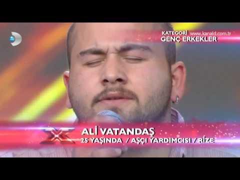 Ali Vatandaş - Nasip Değilmiş Performansı - X Factor Star Işığı