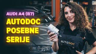 Menjava dizel Filter goriva AUDI A4 (8EC, B7) - video navodila