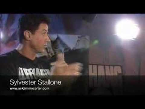 Sylvester Stallone Cliffhanger interview