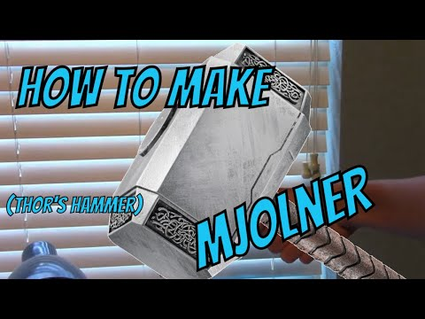 How to make Thor's Hammer!