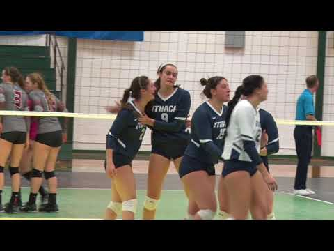 Ithaca Women's Volleyball vs. Stevens Highlights - 2017 NCAA Second Round