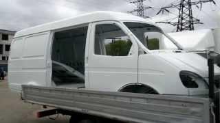 Кузов ГАЗ 2705 ГАЗель 7-ми местн. в металле окрашенный