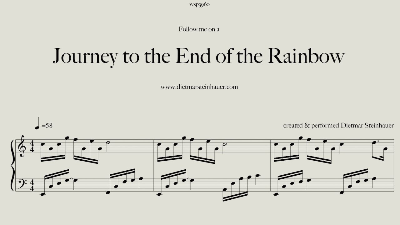 Journey to the end of the rainbow youtube for Dietmar steinhauer