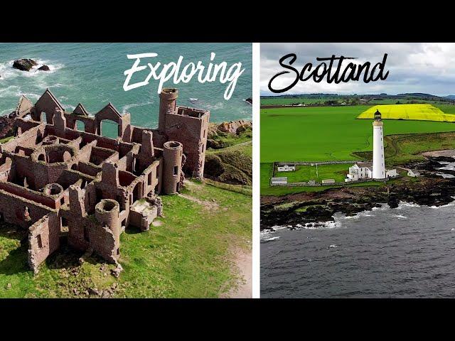 A Trip to the Scottish Countryside + Edinburgh