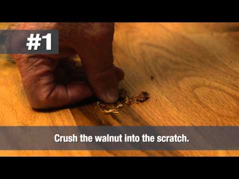 How to Remove a Scratch from Wood Floors | Home Hack