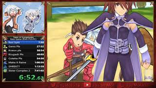 Tales of Symphonia PC New Game Any% Speedrun World Record in 7:33:56