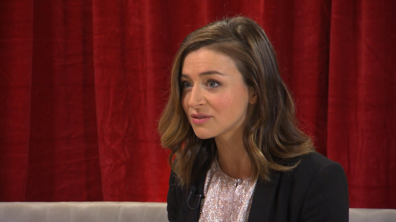 Checking up on \'Grey\'s Anatomy\' with Caterina Scorsone - YouTube
