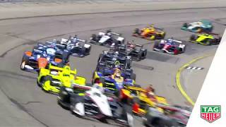 TAG Heuer Moment of the Race: Iowa