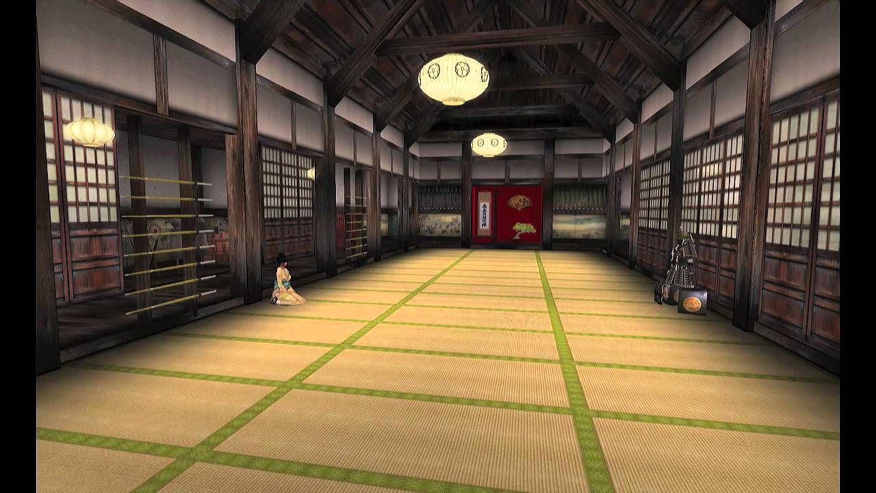 Matsumoto Castle Dojo Located On Japan Chubu In Second Life