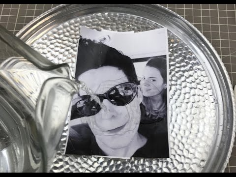 Make A Photo Using The Packing Tape Transfer Technique