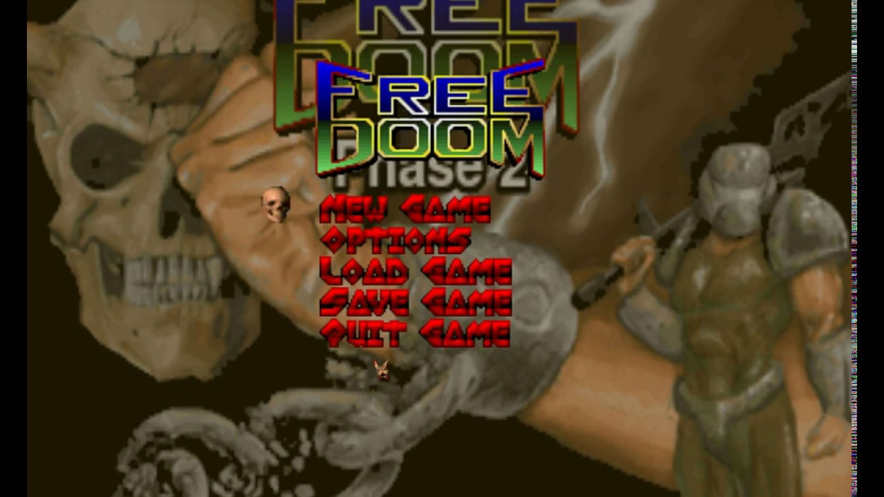 Freedoom Phase 2 Lvl1 review