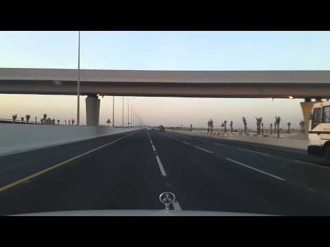 Driving to Hamad International Airport