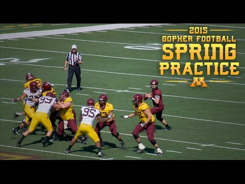 2015 Gopher Football Spring Game Highlights - YouTube