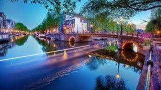 Живо Прогуляться по Каналам Амстердама
