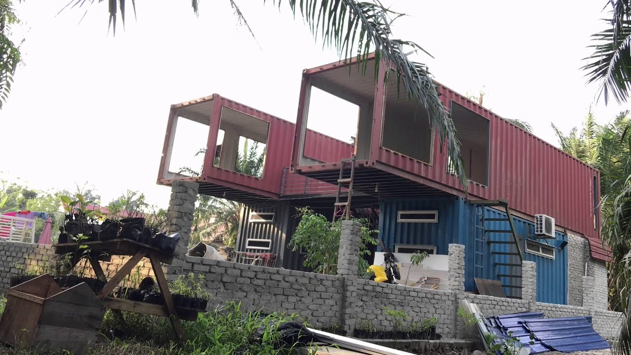 Rumah Kontena Container House Dream Youtube