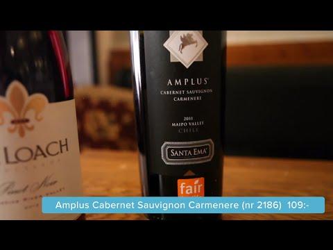 De Loach Pinot Noir + Amplus Provning dinvinguide