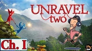 CHAPTER ONE, UNRAVEL TWO GAMEPLAY - Unravel Two Playthrough | Birdalert (NEW)