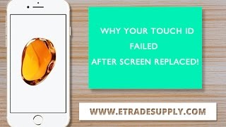Why Your iPhone Touch ID Failed After Screen Replaced!