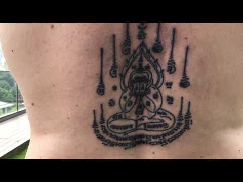 Thai Sacred Tattoo: Getting A Sak Yant Tattoo in Bangkok Thailand