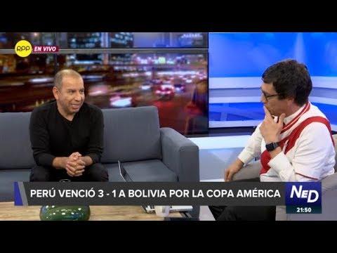 Juan Carlos Vizcarra: 'Creo que se nos va a complicar porque Brasil va a salir con todo'