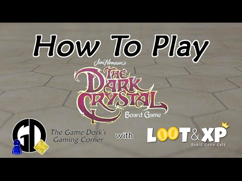 How to Play: Jim Henson's The Dark Crystal Board Game - The Game Dork's Gaming Corner