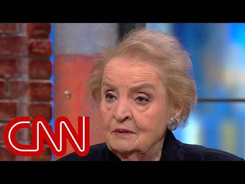 Madeleine Albright: Some things Trump does are a gift to Putin