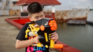 Nerf N-Strike Rapid Fire AS-20(Thai/ไทยReview)