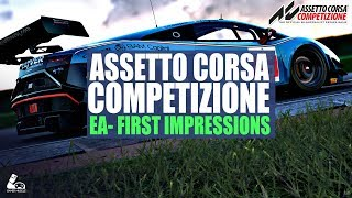 ASSETTO CORSA COMPETIZIONE - FIRST IMPRESSIONS - EARLY ACCESS