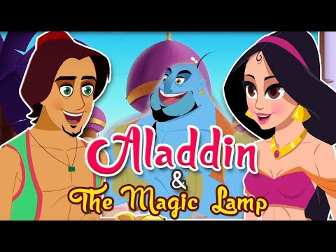 Aladdin And The Magic Lamp Story   Fairy Tales and Bedtime Stories For Children   TinyDreams Kids