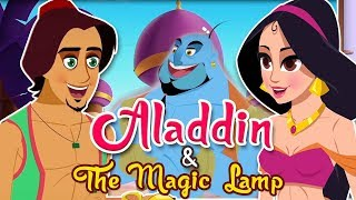 Aladdin And The Magic Lamp Story | Fairy Tales and Bedtime Stories For Children | Stories For Kids