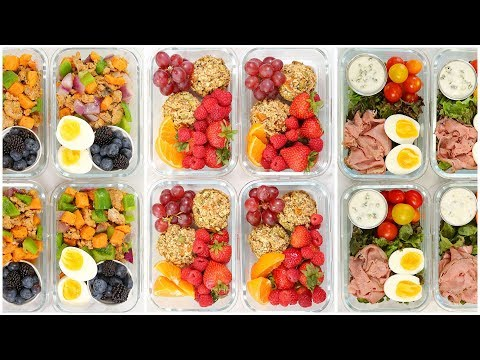 Healthy Breakfast Meal Prep Recipes | Back to School + Quick + Easy