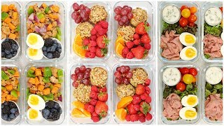 Healthy Breakfast Meal Prep Recipes   Back to School + Quick + Easy