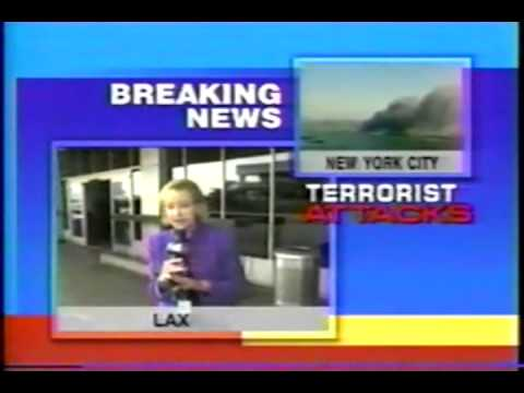 9/11 Los Angeles Airport LAX FOX11 Arrival Time News Report