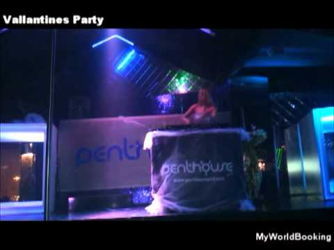 Penthouse The Club İstanbul Vallantines Party With Vanilla Sky1.wmv