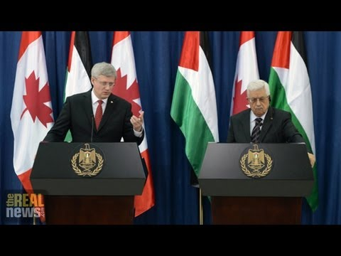Harper Pledges $66 Million to Palestinian Authority, But Does it Aid Palestinians?