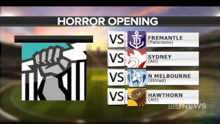 AFL Draw | 9 News Adelaide