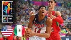 USA 🇺🇸 vs Mexico 🇲🇽 - Classic Full Games | FIBA Basketball World Cup 2014