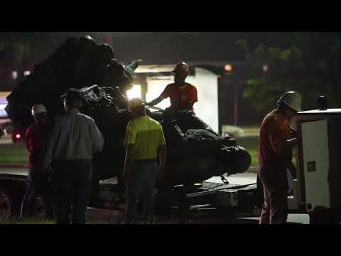 Confederate Monuments Taken Down In Baltimore Overnight   Baltimore Sun