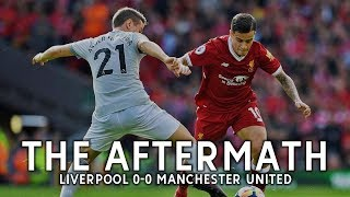 Mourinho's future + anfield aftermath | the aftermath: live! | liverpool 0-0 manchester united