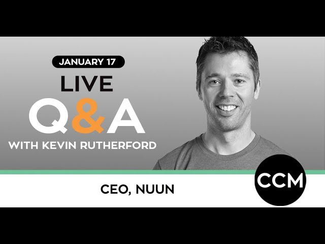 LIVE Q&A | Kevin Rutherford